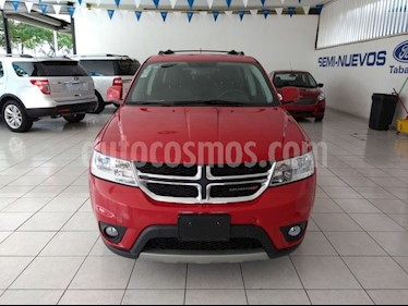 Foto venta Auto Usado Dodge Journey SXT 2.4L 7 Pasajeros (2017) color Rojo Adrenalina precio $355,000