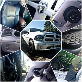 Foto venta Auto usado Dodge Ram 2500 Laramie 4x4 Cabina Doble (2014) color Gris precio $915.000
