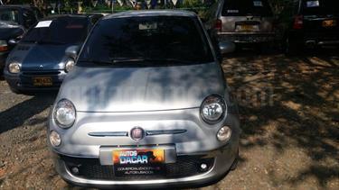 Fiat 500 1.4L Sport usado (2011) color Plata precio $35.000.000