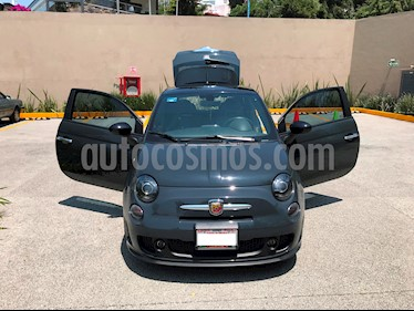 Foto venta Auto Seminuevo Fiat 500 Abarth (2016) color Gris Oscuro precio $285,000