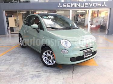 Foto venta Auto Seminuevo Fiat 500 Easy Aut (2016) color Verde Oliva precio $210,000