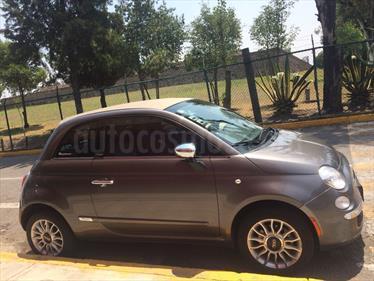 Foto venta Auto Usado Fiat 500 Lounge Convertible (2013) color Gris precio $177,000