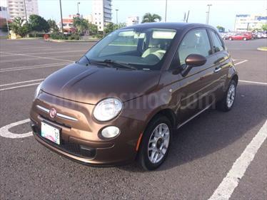 Foto venta Auto Seminuevo Fiat 500 Pop (2012) color Cafe precio $118,000