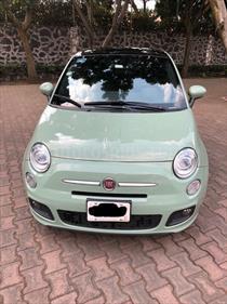 Foto venta Auto usado Fiat 500 Sport Aut (2014) color Verde Oliva precio $200,000