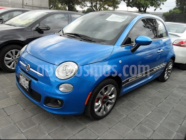 Foto venta Auto Seminuevo Fiat 500 Sporting (2016) color Azul precio $225,000