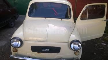 Foto venta Auto usado Fiat 600 R (1977) color Amarillo precio u$s5.500