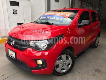 Foto venta Auto Usado Fiat Mobi Easy (2017) color Rojo Obscuro precio $129,000