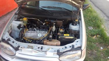 Foto venta Auto usado Fiat Palio 5P EL 1.7 TD (1996) color Gris Plata  precio $55.000