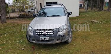 Foto venta Auto Usado Fiat Strada Adventure 1.6 Cabina Extendida Seguridad (2011) color Plata Bari precio $205.000