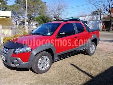 Foto venta Auto usado Fiat Strada Adventure 1.6 Cabina Extendida (2011) color Rojo precio $240.000