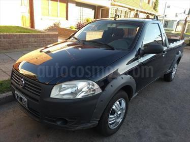 Foto venta Auto Usado Fiat Strada Trekking 1.4 (2014) color Azul Celeste precio $195.000