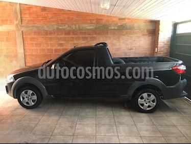 Foto venta Auto Usado Fiat Strada Working 1.4 Cabina Simple Ac (2014) color Negro Vesubio precio $190.000