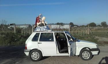 Foto venta Auto Usado Fiat Uno Fire 5P Confort (2012) color Blanco precio $90.000