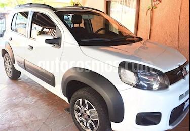 Foto venta Auto usado Fiat Uno Way (2015) color Blanco precio $129,000