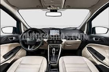 Ford Ecosport Automatica 4x2 usado (2018) color Blanco precio BoF150.000