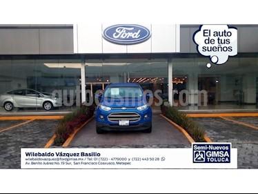 Foto venta Auto Seminuevo Ford Ecosport EcoSport 4x2 MT (2014) color Azul precio $157,000