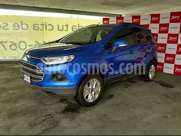 Foto venta Auto Seminuevo Ford Ecosport SE Aut (2014) color Azul precio $185,000
