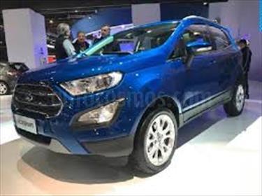 Foto venta carro usado Ford Ecosport Titanium Aut 4x2 (2017) color Azul Agua precio BoF20.000.000