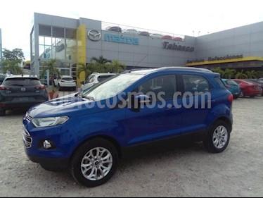 Foto venta Auto Seminuevo Ford Ecosport TITANIUM TA 2.0L (2015) color Azul Dinamico precio $197,500