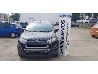 Foto venta Auto Seminuevo Ford Ecosport TREND 4x2 MT (2014) color Negro precio $185,000