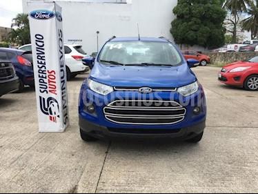Foto venta Auto Seminuevo Ford Ecosport TREND MT (2014) color Azul precio $185,000