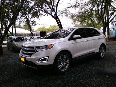 Foto venta Carro Usado Ford Edge 3.5L SEL (2016) color Blanco precio $125.000.000