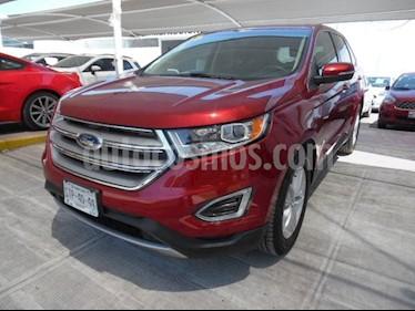 Foto venta Auto Seminuevo Ford Edge 5 PTS. SEL, V6, TA (2015) color Rojo precio $345,000