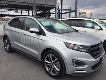 Foto venta Auto Usado Ford Edge 5 PTS. SPORT, V6, TA, PIEL, QC, DVD, ALERON (2017) color Plata Estelar precio $539,000
