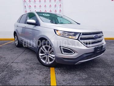 Foto venta Auto Usado Ford Edge SEL PLUS (2016) color Plata precio $410,000