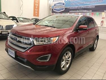 Foto venta Auto Seminuevo Ford Edge SEL (2015) color Rojo precio $338,000