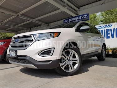Foto venta Auto Usado Ford Edge Titanium (2017) color Blanco precio $553,000