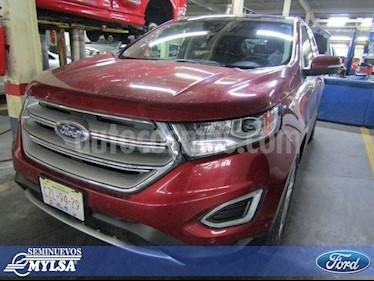 Foto venta Auto Seminuevo Ford Edge Titanium (2015) color Rojo precio $375,000