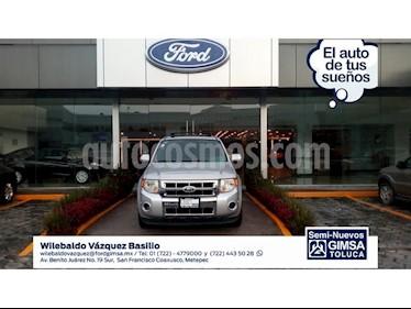 Foto venta Auto Usado Ford Escape 5 PTS. LIMITED, V6, TA, PIEL, DVD, GPS, F. NIEBLA (2011) color Plata precio $145,000