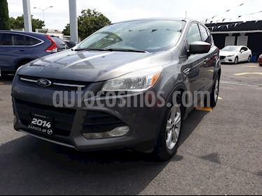 Foto venta Auto Usado Ford Escape SE (2014) color Gris Nocturno precio $199,000