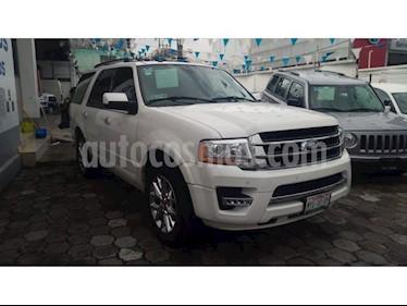 Foto venta Auto Seminuevo Ford Expedition 5 PTS. LIMITED, 5.4L, PIEL, QC, DVD (2016) color Blanco precio $599,000