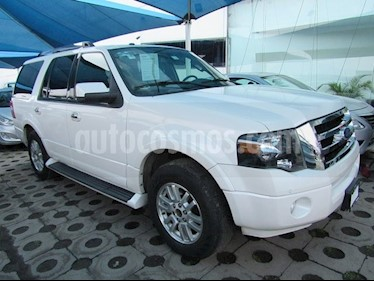 Foto venta Auto Seminuevo Ford Expedition 5 PTS. LIMITED, 5.4L, PIEL, QC (2012) color Blanco precio $335,000