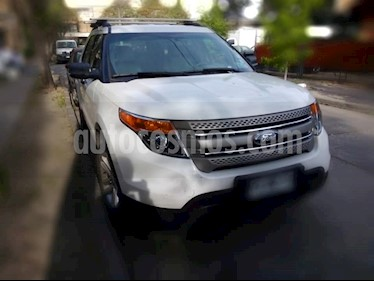 Ford Explorer 2.0L Ecoboost 4x2  usado (2013) color Blanco Oxford precio $14.500.000