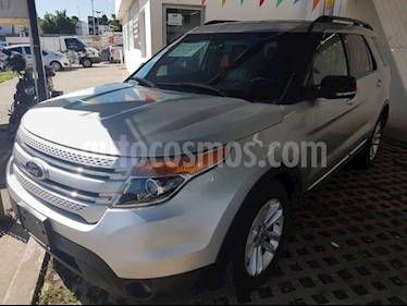 Foto venta Auto Seminuevo Ford Explorer 3.5 XLT V6 4X2 AT (2012) color Plata precio $228,000