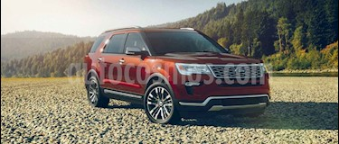 Foto venta carro Usado Ford Explorer 3.5L Limited 4x4 (2018) color Rojo Rubi