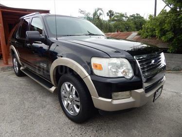 Ford Explorer 4.0L Eddie Bauer 4x4 usado (2010) color Negro precio $8.000.000