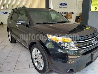 Foto venta Auto Seminuevo Ford Explorer 5 PTS. LIMITED, V6, TA, PIEL, QC, DVD, SYNC (2014) color Negro Profundo precio $375,000