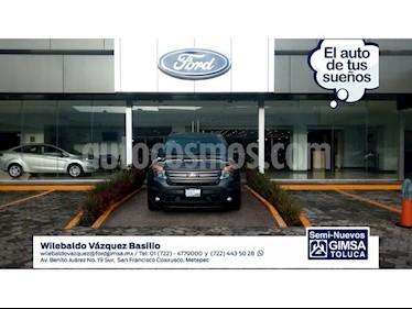 Foto venta Auto Seminuevo Ford Explorer 5 PTS. LIMITED, V6, TA, PIEL, QC, DVD, SYNC (2015) color Gris precio $354,000