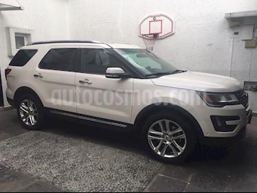 Foto venta Auto Seminuevo Ford Explorer Limited 4x4 3.6L  (2016) color Blanco Platinado precio $490,000