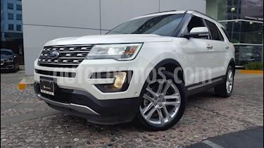 Foto venta Auto Seminuevo Ford Explorer Limited 4x4 3.6L  (2016) color Blanco Sueco precio $515,000