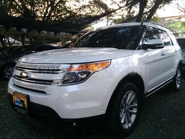 Ford Explorer Limited 4x4  usado (2017) color Blanco precio $90.000.000