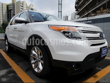 Foto venta Auto Seminuevo Ford Explorer Limited 4x4  (2013) color Blanco Oxford precio $325,000