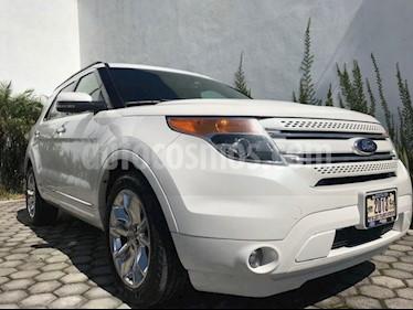 Foto venta Auto Seminuevo Ford Explorer LIMITED V6 4WD (2013) color Blanco precio $294,999