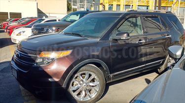 Foto venta Auto Seminuevo Ford Explorer Limited  (2013) color Cafe precio $350,000