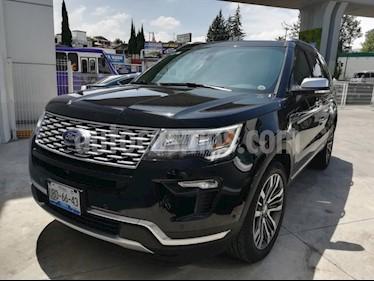 Foto venta Auto usado Ford Explorer Platinum (2018) color Negro precio $820,000
