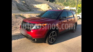 Foto venta Auto usado Ford Explorer Sport 4x4 (2015) color Rojo Rubi precio $405,000